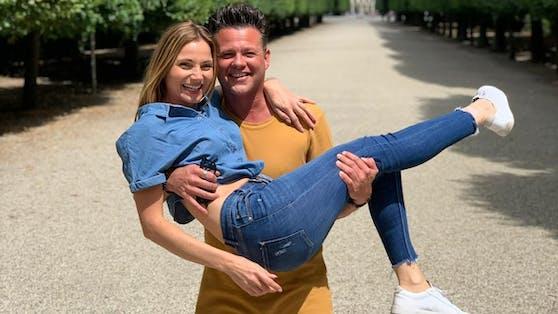 Mandy Rossberg und Gernot Pachernigg sind seit Sonntag verlobt.