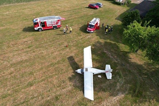 Der Rieder stürzte mit einem Kleinflugzeug ab.