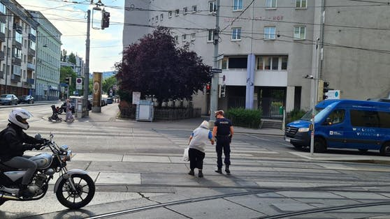 Herziger Einsatz in Wien-Ottakring
