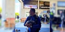 """""""Hosentrompete"""": Kratky springt aus 4.000 Metern Höhe"""