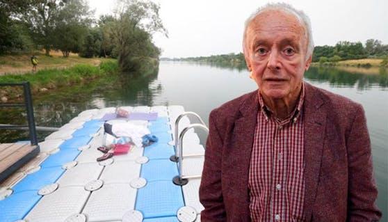 ORF-Legende Peter Elstner sprang zur Abkühlung in die Donau – und tauchte nie wieder auf.