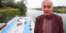 Hier an der Donau verlor ORF-Legende Elstner sein Leben