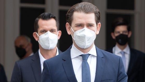 Gesundheitsminister Wolfgang Mückstein und Bundeskanzler Sebastian Kurz peilen weitere Lockerungen für den 22. Juli an.