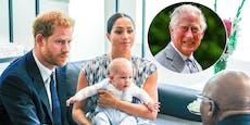 Prinz Charles will Archie den Prinzen-Titel verwehren