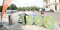 Volltanken, bitte! 1.000 E-Ladestellen in ganz Wien