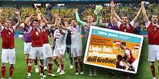 """Deutsche tönen nach ÖFB-Sieg: """"Willkommen bei Großen"""""""