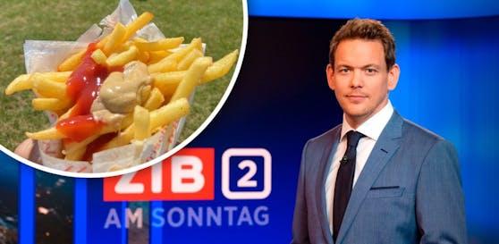 ZiB-Mann Martin Thür postete Pommes mit Senf – und erntet Shitstorm.