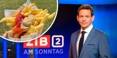 ORF-Star Thür isst Pommes mit Senf und kriegt Hass ab