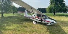 Leichtflugzeug gleich nach Start abgestürzt