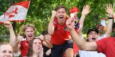 So wild feierten die Fans den historischen ÖFB-Triumph