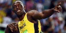 Bolt überrascht mit Namen für seine Zwillinge