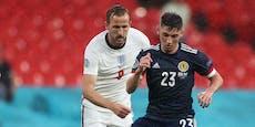 Schotte hat Corona – jetzt zittern die England-Stars