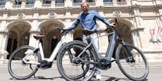 Holländer wollen die Wiener mit bequemen E-Bikes ködern
