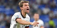 Müller-Verletzung schockt die Deutschen