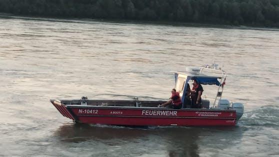 Mehrere Wehren suchten die Donau nach dem Mann ab.