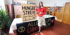 Gluthitze, 8 Kilo weg – Wienerin bleibt im Hungerstreik