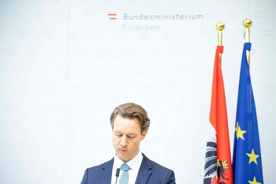 Stellungnahme zu Aktenlieferungen des BMF: Pressestatement von Finanzminister Gernot Blümel.