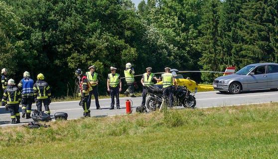 Tödlicher Motorradunfall bei Mauerkirchen