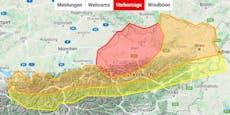 Gewitter, Hagel! Neue Unwetter rollen auf Österreich zu