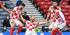 Kroatien jubelt! 3:1 gegen Schottland bringt Aufstieg