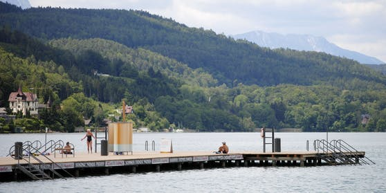 Das Strandbad in Klagenfurt