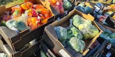 Mega-Salat nach Unfall von 20-Tonnen-Lkw auf A2
