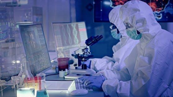 Virologen erforschen das Coronavirus.
