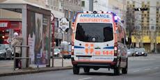 Bikerin bei Crash in Wien-Favoriten schwer verletzt