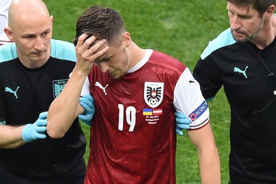 Christoph Baumgartner wurde angeschlagen ausgewechselt.