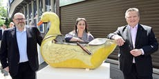 Darum hat Stadtchef Ludwig ein Date mit einer Ente