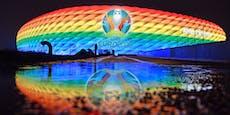 UEFA verbietet Regenbogen-Beleuchtung bei EM-Arena