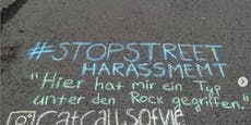 Insta-Account schreibt sexistische Sprüche auf Straße