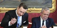 Höchstgericht spielt Causa Blümel an die Hofburg zurück
