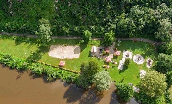 Fäkalkeim-Alarm an der Badestelle Aist-Schwertberg: Die Belastung liegt über den Grenzwerten.