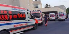 Spital voll – Stau der Rettungsautos in Wien