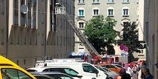 Feuer im Gemeindebau – Wiener aus Flammen gerettet