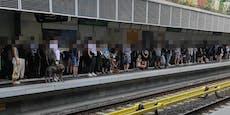 U4-Störung sorgte für vollen Bahnsteig in Margareten