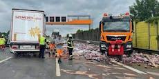 """""""Colaflaschen-Unfall"""": 20 Kilometer Stau auf der """"West"""""""