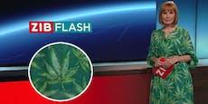 Moderatorin überrascht ORF-Zuschauer mit Hanf-Kleid