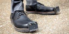 Innovation: Dieser Schuh ersetzt den Blindenstock