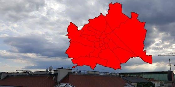 Unwetter-Alarm in Wien