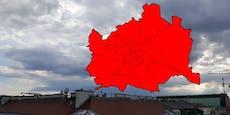 Unwetter-Warnung gilt für alle Wiener Bezirke