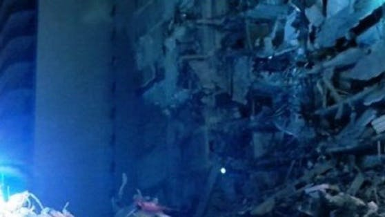Im US-Bundesstaat Florida ist ein elfstöckiges Hochhaus eingestürzt.