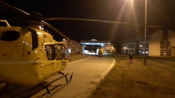 Es standen auch zwei Hubschrauber des ÖAMTC im Einsatz.