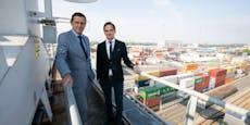 Hafen Wien trotz Coronakrise in ruhigen Gewässern