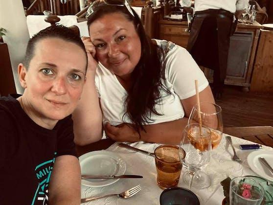 Linz-Gewinnerinnen Monika (l.) und Nicole verbrachten einen wunderschönen Kurzurlaub in der oberösterreichischen Hauptstadt Linz.