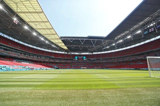 Kein Training im Wembley-Stadion.