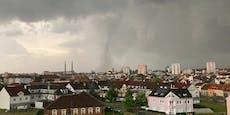 Tote, Verletzte bei Tornado an österreichischer Grenze