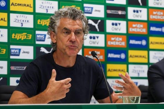Michael Tojner unterstützt Rapid als Sponsor.