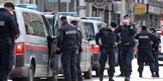 Polizei setzt Taser gegen Messer-Mann in Wien ein